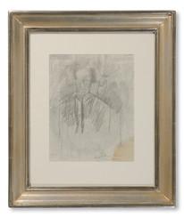 Åke Göransson (1902–1942) - Porträtt av konstnärens moder - (sold)