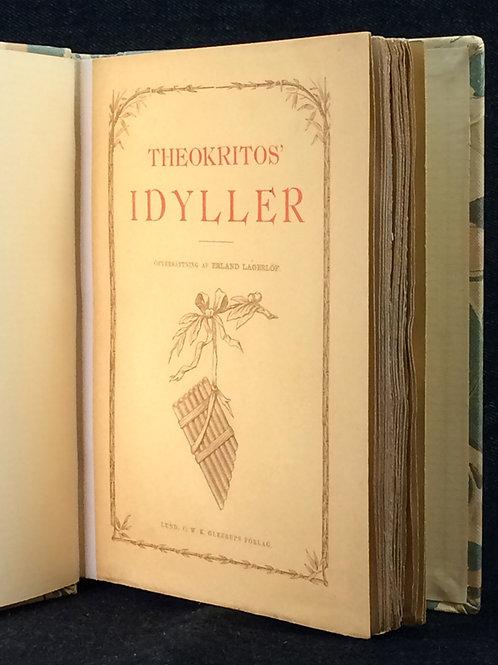 E. Lagerlöf (övers.): Theokritos' Idyller