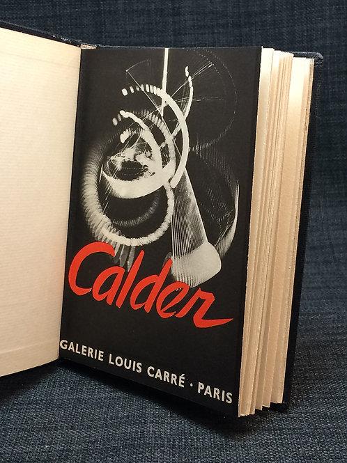 Alexander Calder Mobiles, stabiles, constellations 1946 a