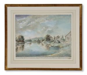 Pehr Nordqvist (1771-1805) - Parken vid Ehrendals (Ärendals) bruk - (sold)