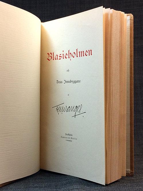 F U Wrangel: Blasieholmen