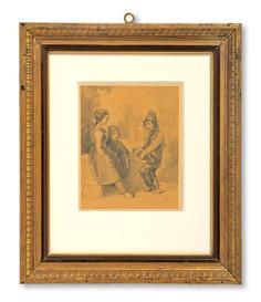 Egron Lundgren (1815–1875) - Barn i Paris 1840