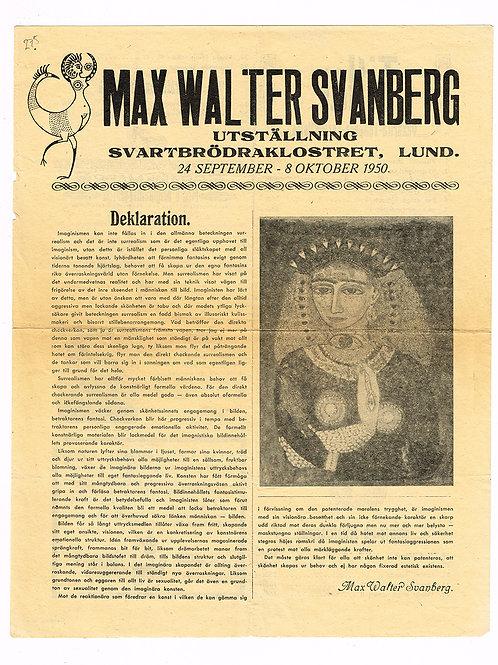 Max Walter Svanberg - Svartbrödraklostret, 1950