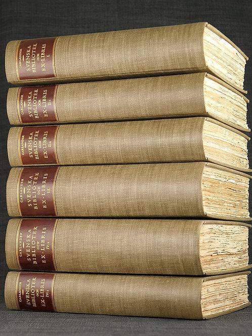 Carlander: Svenska bibliotek och ex-libris