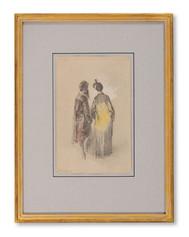 Egron Lundgren (1815–1875) - Par i eleganta dräkter
