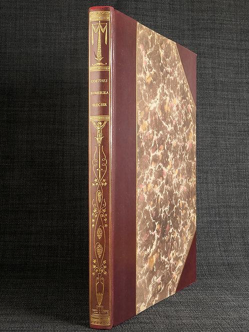 Goethes Romerska elegier, illustrerade av Yngve Berg