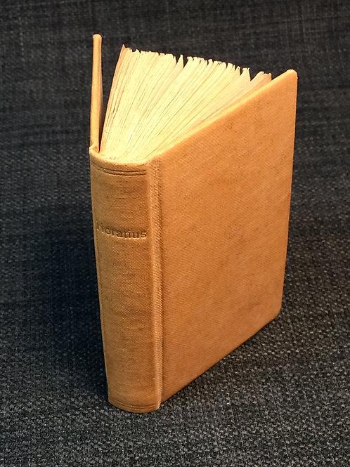 Miniature Book - Horatius, 1820