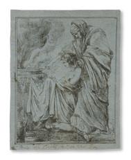 Louis Masreliez (1748– 1810) - Offerscen, etsning
