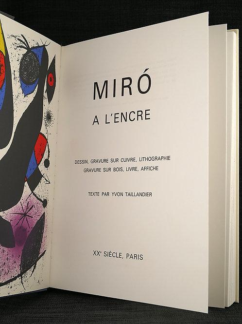 Miró a l'Encre
