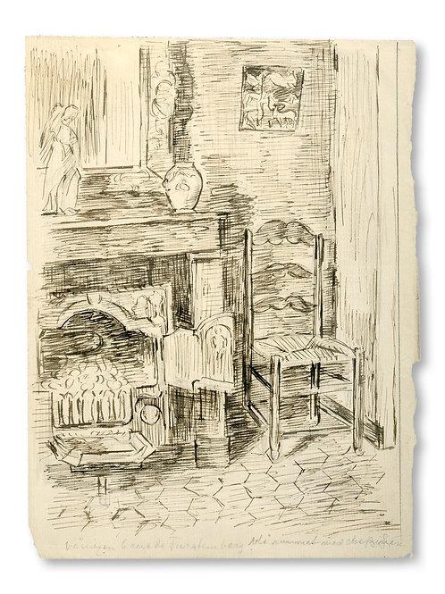 Birger Simonsson: Konstnärens hem i Paris 1919-26