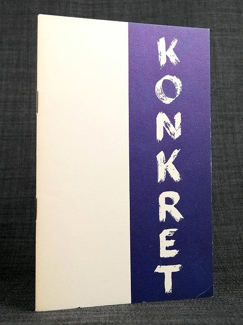 Konkret. Utställning. 1949