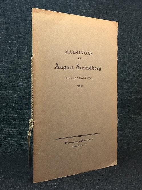 Målningar af August Strindberg, 1924