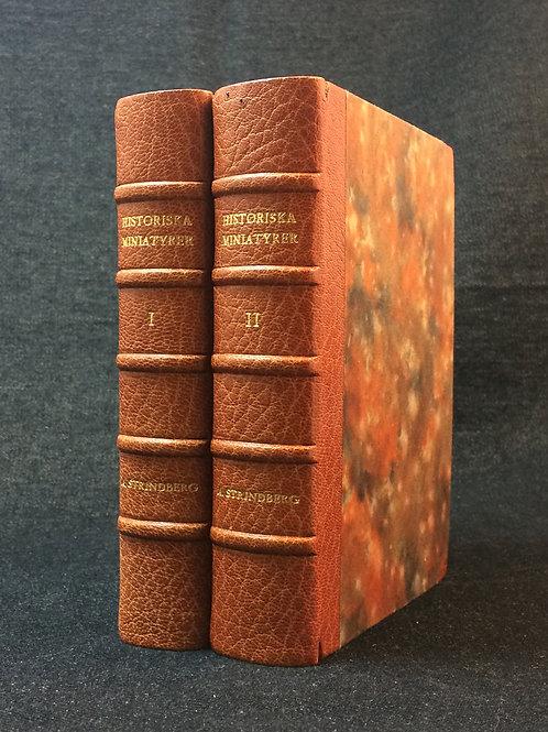 Strindberg:Historiska miniatyrer
