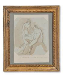 Jonas Åkerström (1759–1795) - Adam och Eva - (sold)