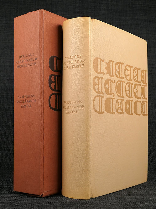 Dyalogus creaturarum, faksimil 1983 i bibliofilupplaga