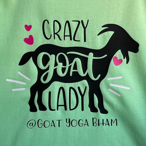 Crazy Goat Lady Tee