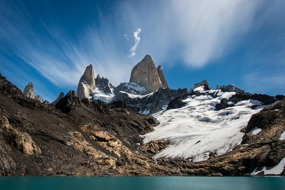 Cerro Fitz Roy et la Laguna de los Tres