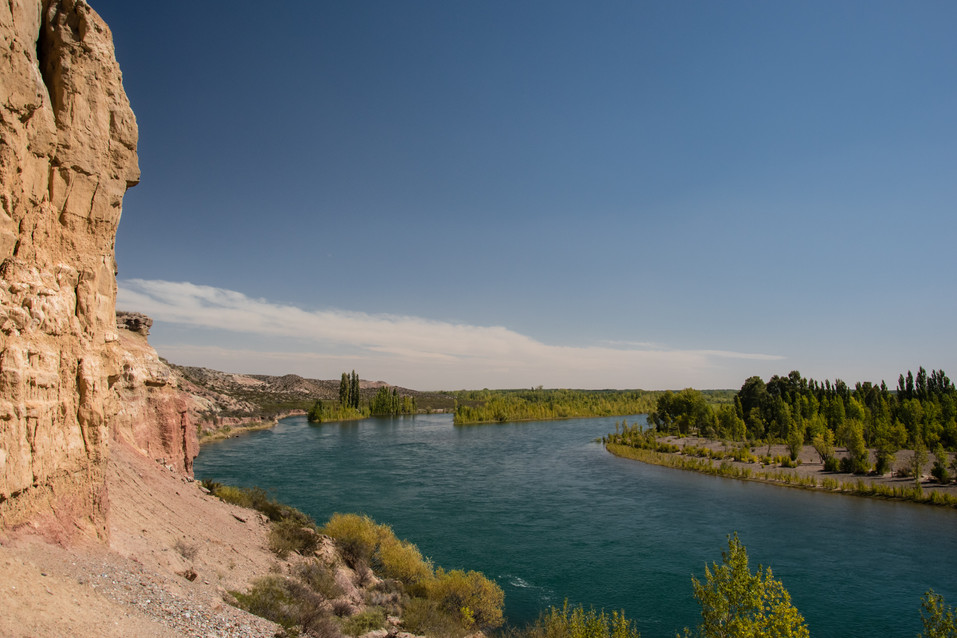 Les falaises du Río Limay
