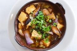 Eggplant tofu clay pot
