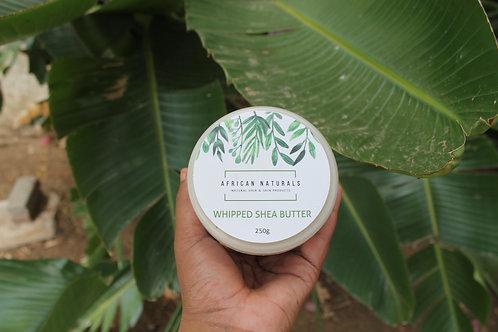 Raw and organic shea butter