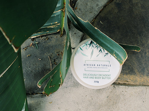 Decadent body and skin butters