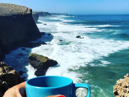 Dormir sur une falaise et boire le meilleur café du monde