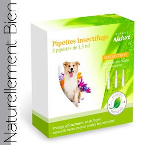 Pipettes Insectifuges Chiens <20kg
