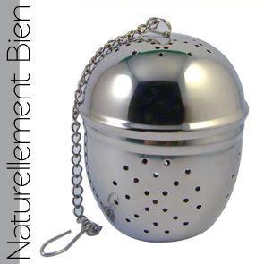 Boule à Thé en acier inoxydable - MA0030