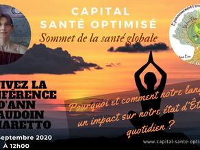 Interview pour le Sommet Capital Santé Optimisé