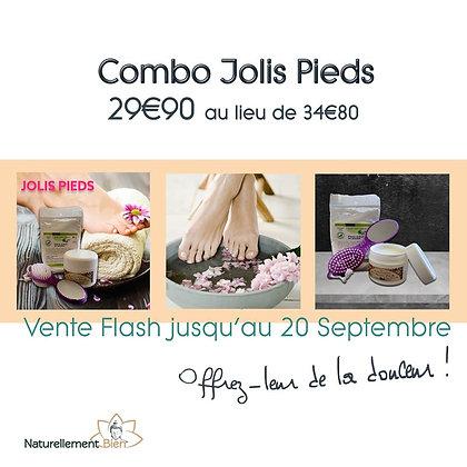 COMBO JOLIS PIEDS