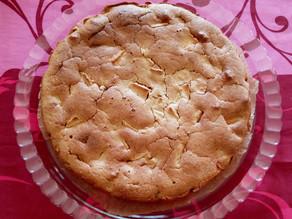 Gâteau aux pommes sans gluten, ni lactose