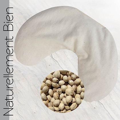 Coussin Nuque Noyaux de Cerise Bio - PT0034