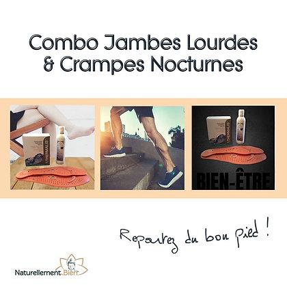 COMBO JAMBES LOURDES ET CRAMPES NOCTURNES