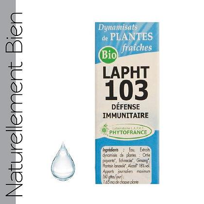 LAPHT Défense Immunitaire - NN0041