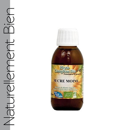 Phytocomplexe Sucre Moins Bio - NN0086