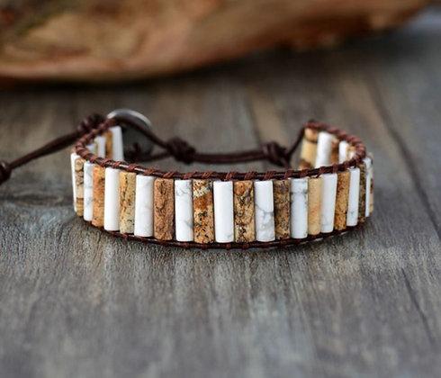 """Bracelet Wrap """"Maîtrise de Soi"""" - EL0235"""