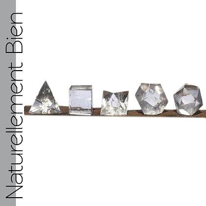 Coffret de 5 solides de Platon - EL0192