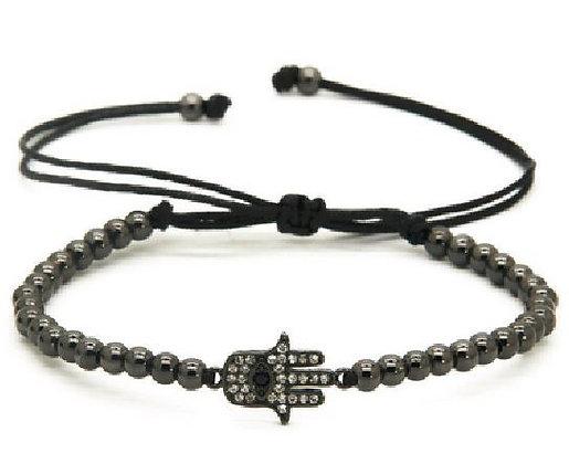 Bracelet Macramé Main de Fatima - TM0064