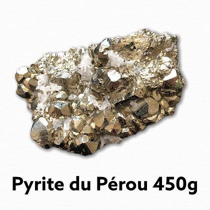 Pyrite Qualité Extra du Pérou 450 g