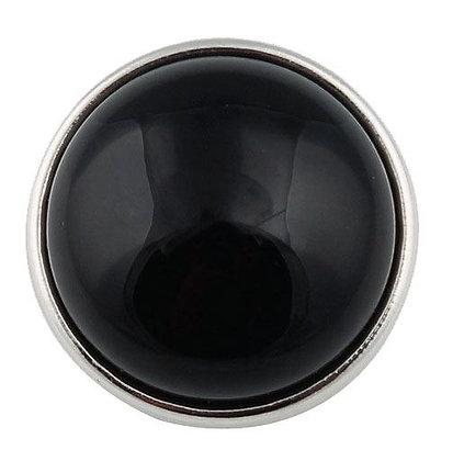 Clip Onyx Noir 18mm