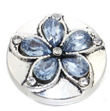 Clip Lotus Bleu 18mm