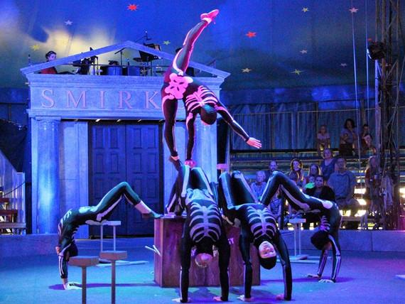 Circus Smirkus: Hand Painted Unitards