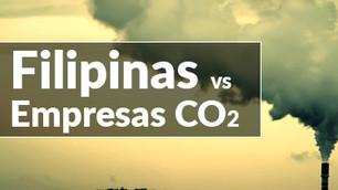 Filipinas vs emisiones de gases de efecto invernadero