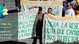 Campesinos protestan para que la Semarnat les permita realizar trabajos de minería en una ANP… ¿dónd