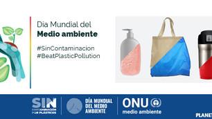 #DíaMundialdelMedioAmbiente: por un mundo sin plásticos