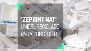 'Zeprint Nat', reciclando el unicel para materiales de construcción