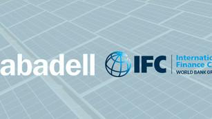 Banco Sabadell y Corporación Financiera Internacional financiarán con 100 mdd proyectos verdes