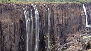 Cataratas Victoria: una de las maravillas naturales del mundo en riesgo de sequía por el cambio clim