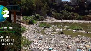 Presas de ciudad de México altamente contaminadas: presa Becerra con peor índice