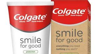 Colgate presenta su primer tubo reciclable de pasta de dientes vegana con ingredientes 99% naturales